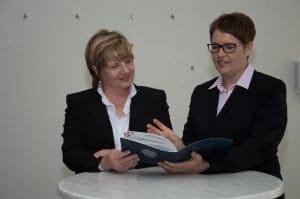 Cornelia Dettmer und Andrea Foerster