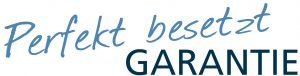 Logo Perfekt Besetzt Garantie