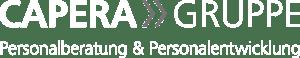 CAPERA Gruppe Logo negativ