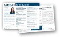 CAPERA informiert Newsletter Icon