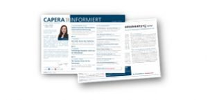 Newsletter CAPERA informiert