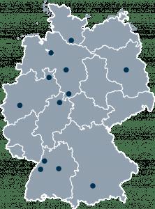 Standortkarte CAPERA