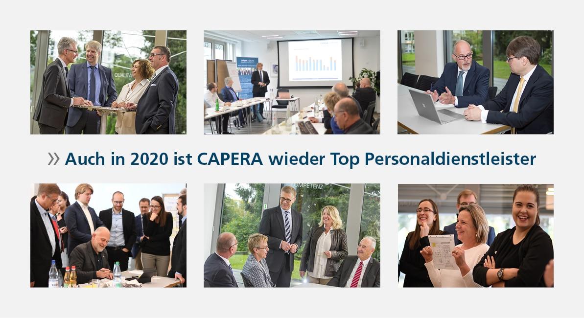 Auch in 2020 ist CAPERA wieder Top Personaldienstleister!