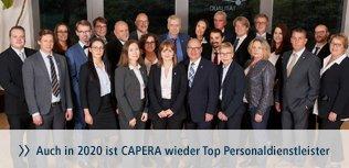 CAPERA ist Top Personaldienstleister 2020